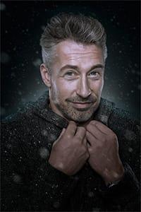 Frank im Schnee